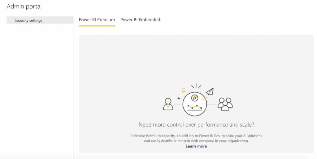 Power BI-Admin portal