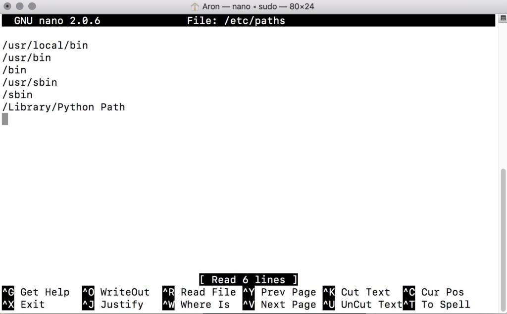 Python常見問題,如何查看或修改Mac中的PATH 環境變數
